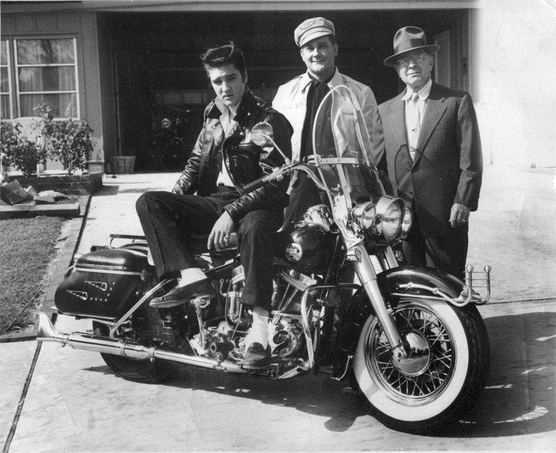 1957 harley davidson flh