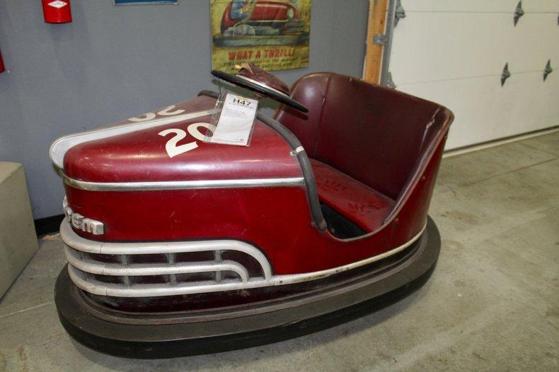 1952 dodgem bumper car