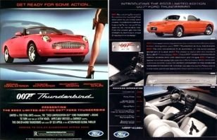 2003 ford thunderbird james bond edition