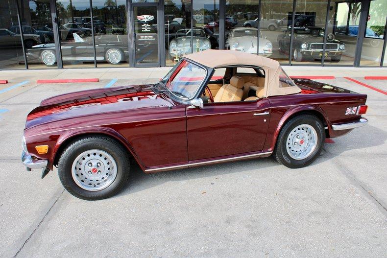 1974 Triumph TR6 For Sale