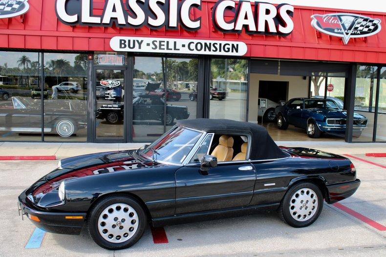 1991 Alfa Romeo Veloce spyder For Sale