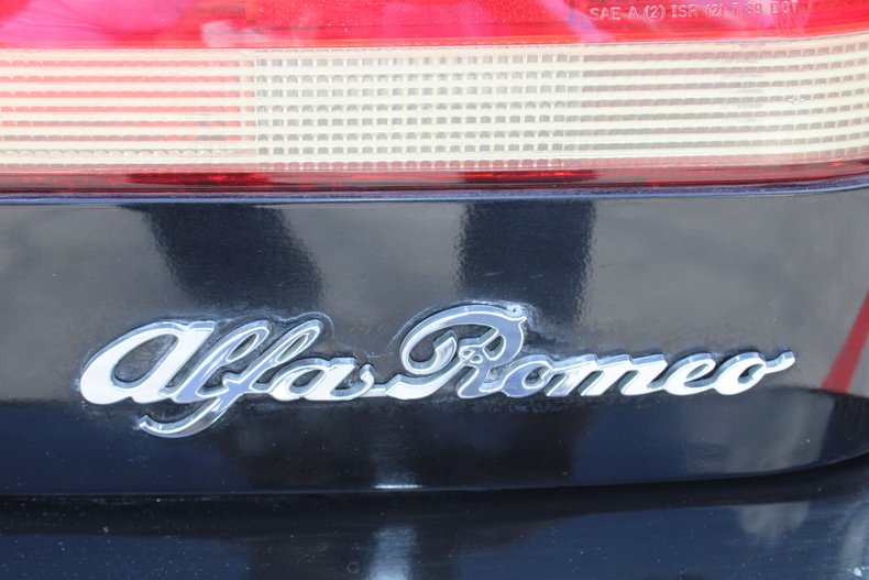 1991 alfa romeo veloce spyder