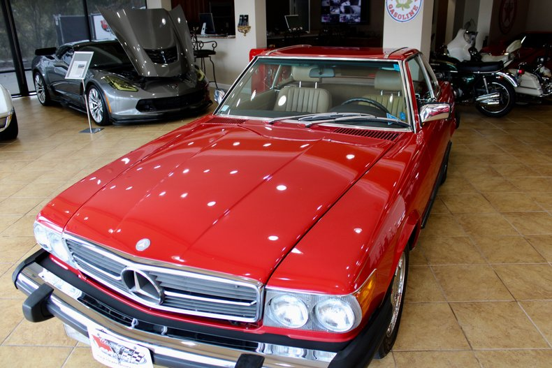 1987 mercedes benz sl560