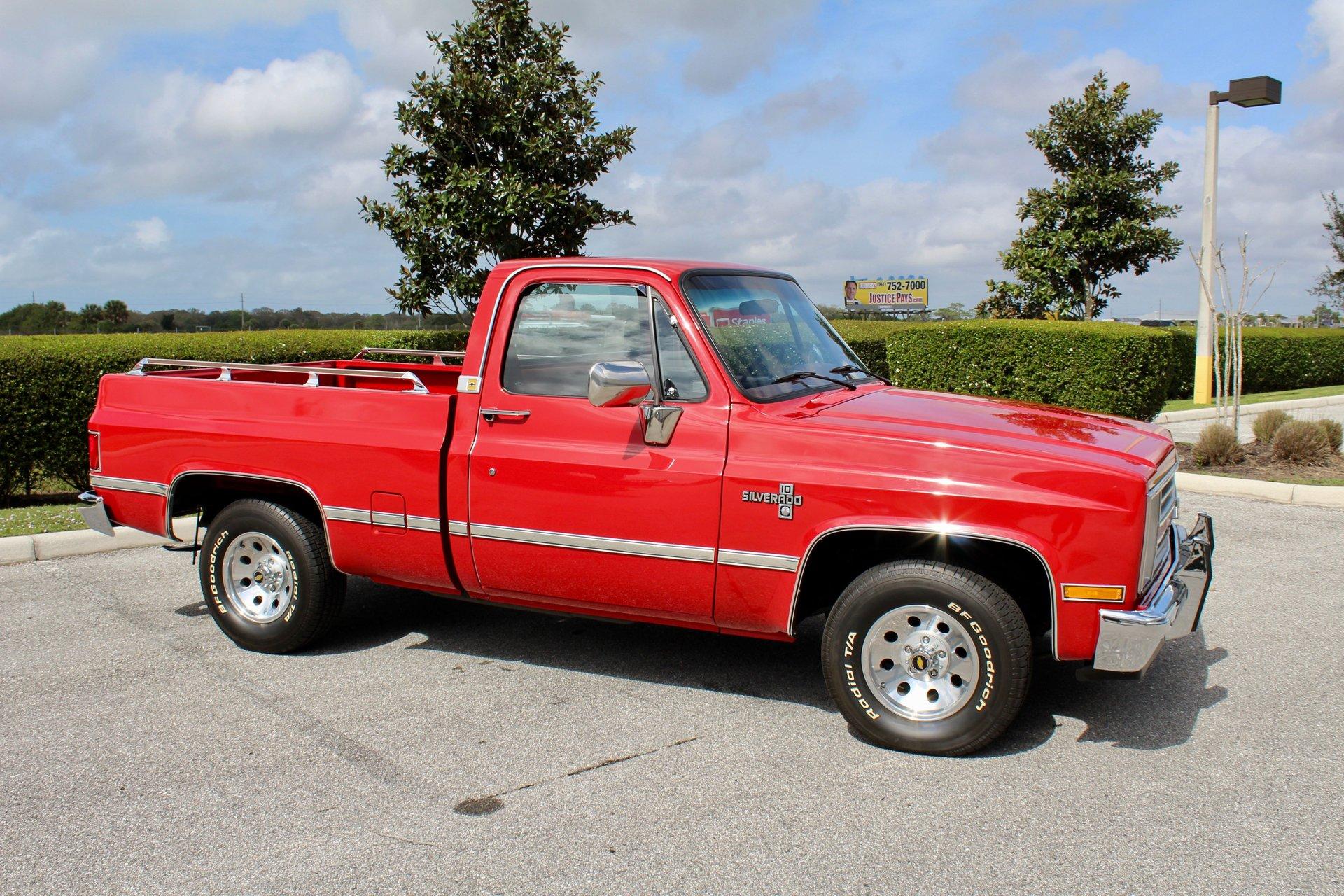 1987 Chevrolet C10 Classic Cars Of Sarasota