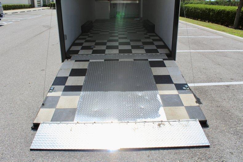 2001 millinium enclosed trailer