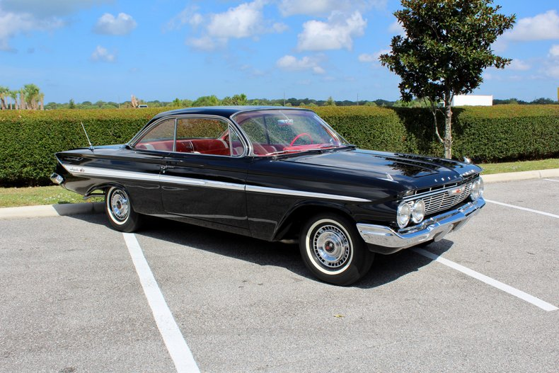 1961 chevrolet impala bubble top 348 4 speed