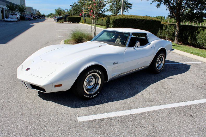 1973 chevrolet corvette stingray 454 4 speed