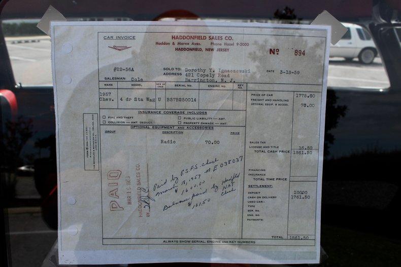 1957 chevrolet del ray stationwagon