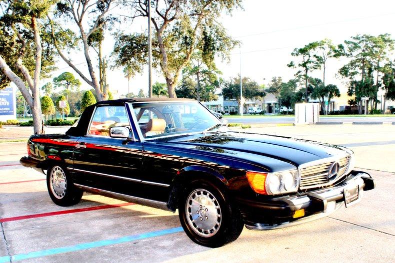 1989 mercedes benz sl560