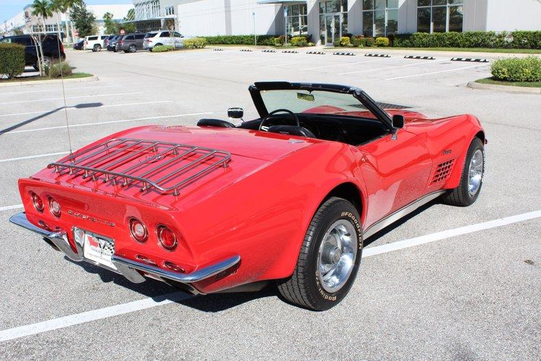 1971 chevrolet corvette stingray 454 convertible