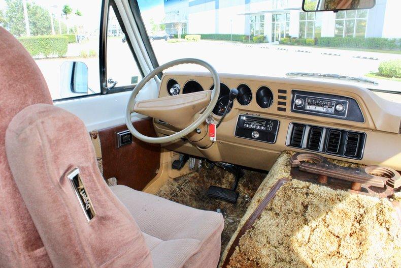 1981 dodge b150 custom conversion