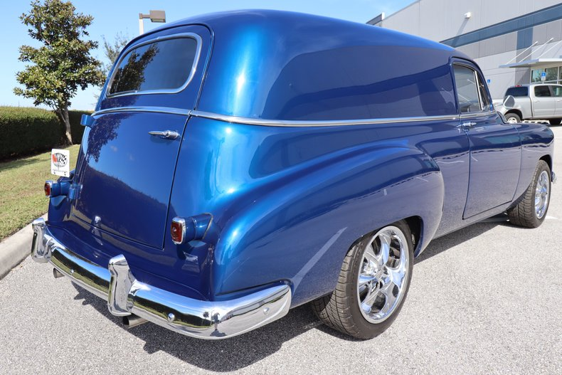 1950 chevrolet delivery wagon