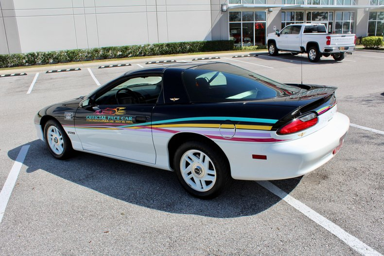 1993 chevrolet camaro z28 1993 indy pace car