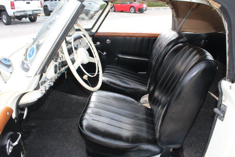 1960 mercedes 190sl
