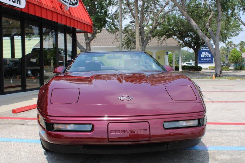1993 chevrolet corvette 40th anniversary convertible
