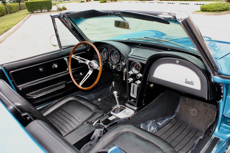 1967 chevrolet corvette stingray l79