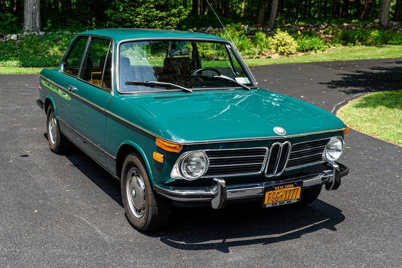 1972 BMW 2002 - One Owner Car