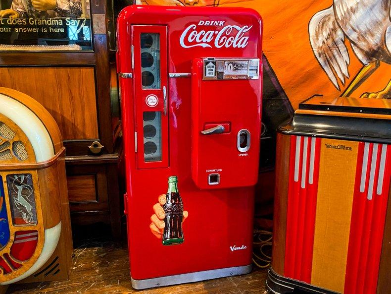 Coca-Cola Soda Machine
