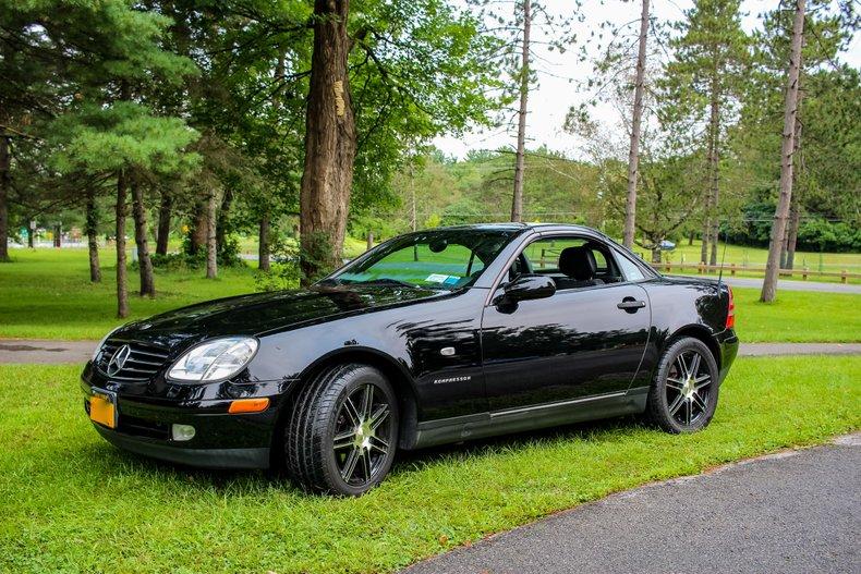 2000 Mercedes-Benz SLK230