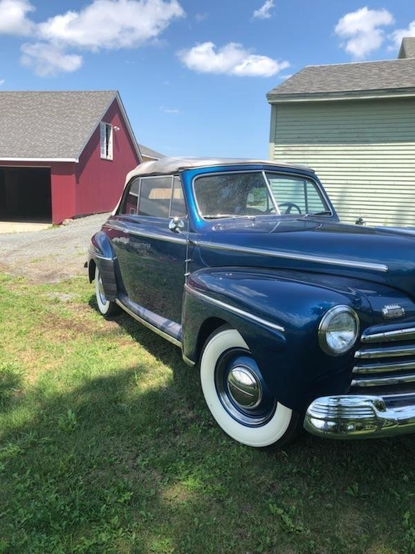 1947 Ford Super Deluxe 8