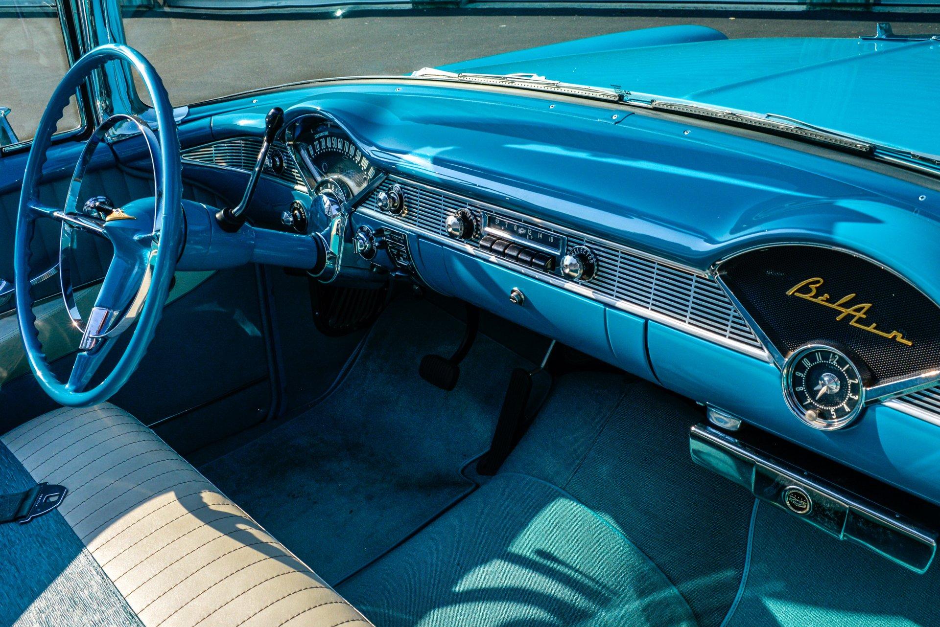 Incredible 1956 Chevrolet Bel Air Saratoga Auto Auction Beutiful Home Inspiration Semekurdistantinfo