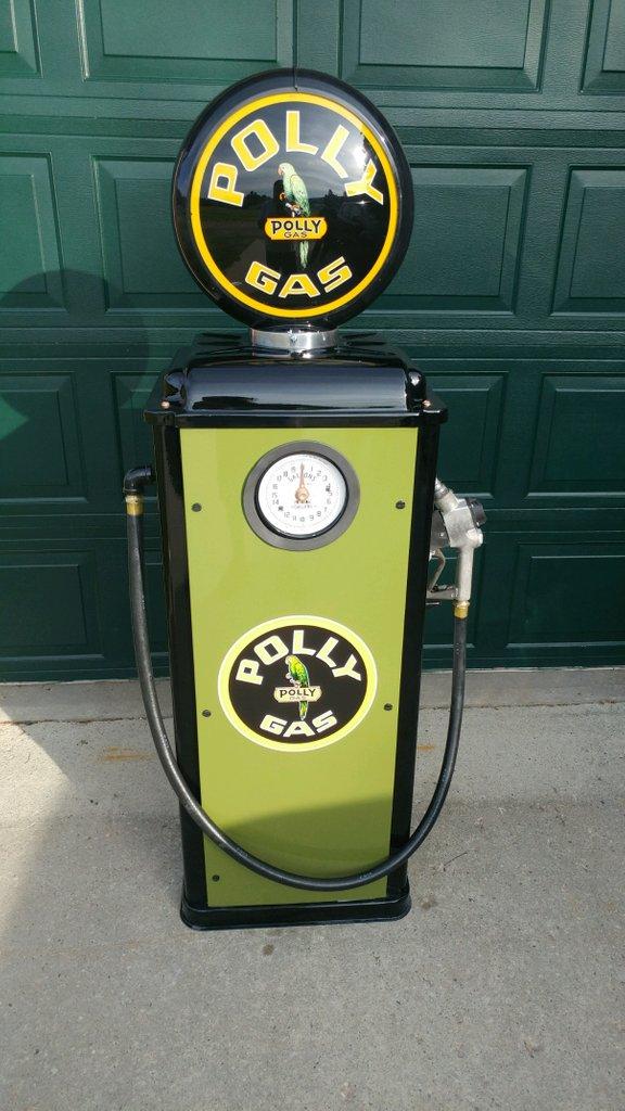 1940 MS70 ClockFace Gas Pump