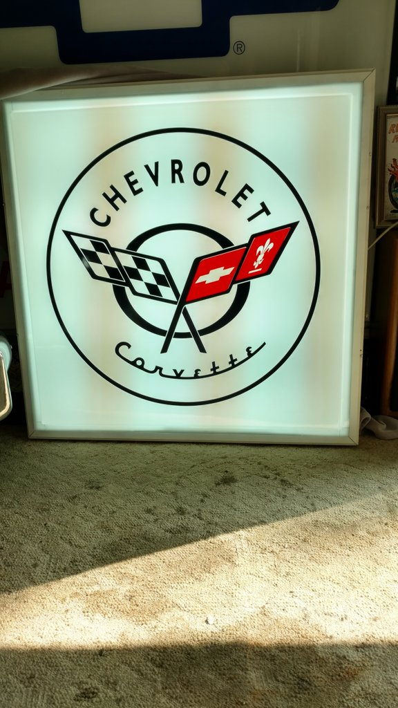 Chevrolet WALL SIGN