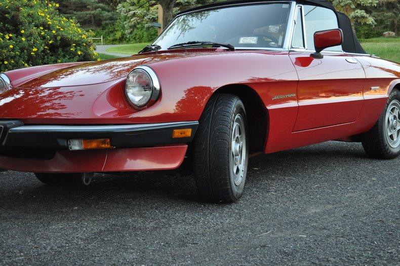 1986 Alfa Romeo Veloce Spider