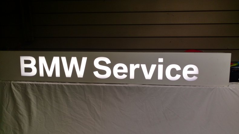 BMW Service WALL SIGN
