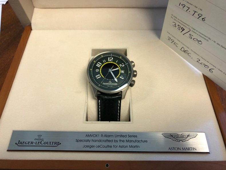 Jaeger-LeCoultre Wrist Watch Special Edition for Aston Martin