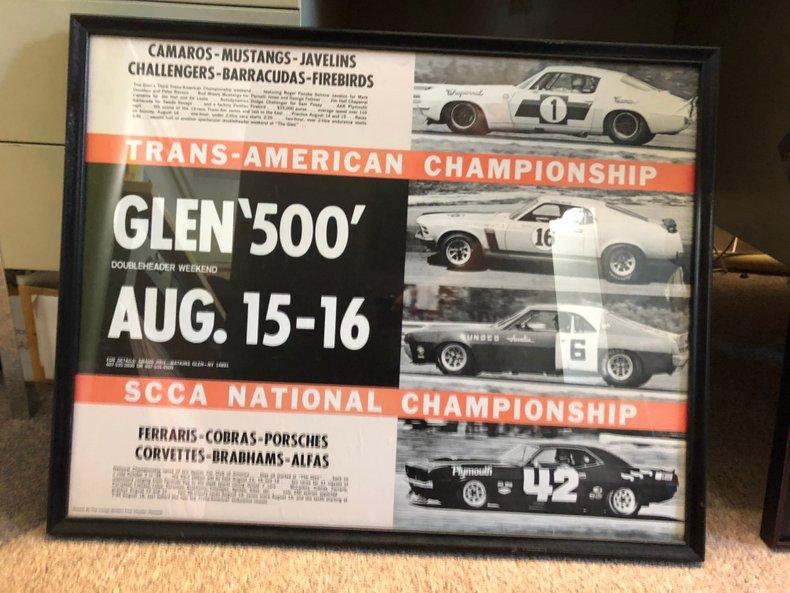 Original Framed Poster 1970 Watkin's Glenn