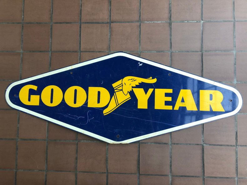 Wall Sign - Metal Good Year Tire