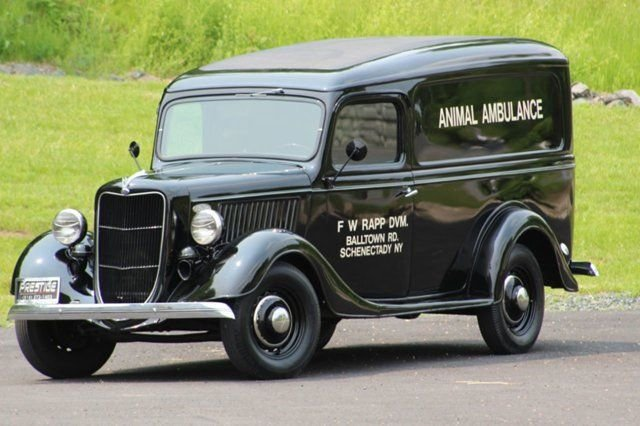 1936 Ford Panel Truck For Sale