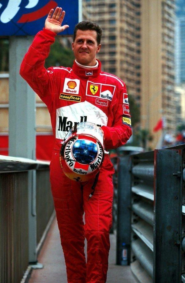 Racing Suit Michael Schmacher