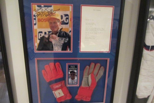 Racing Gloves - Paul Newman
