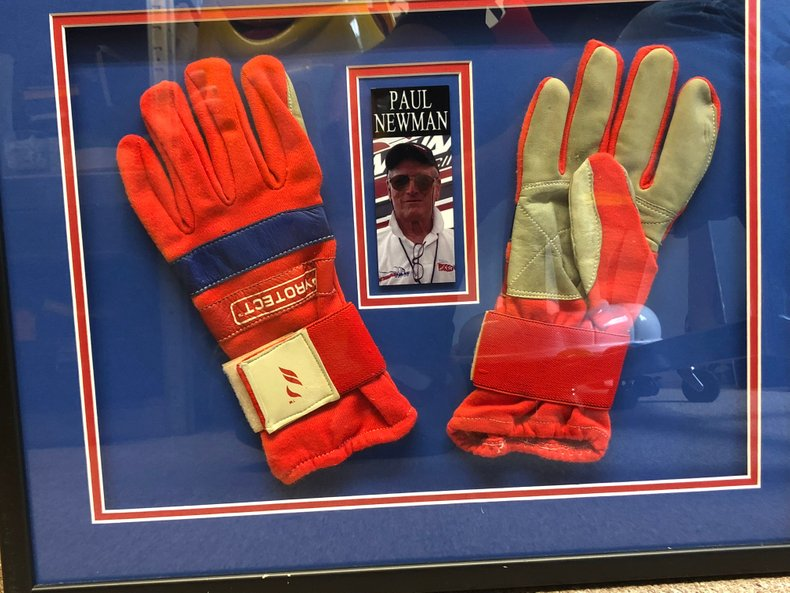 Racing Gloves - Paul Newman