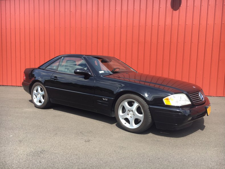 1999 Mercedes-Benz SL600