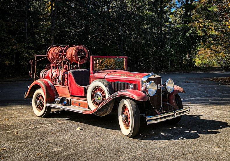1930 Cadillac Fire Truck
