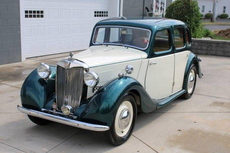 1950 MG YA Touring