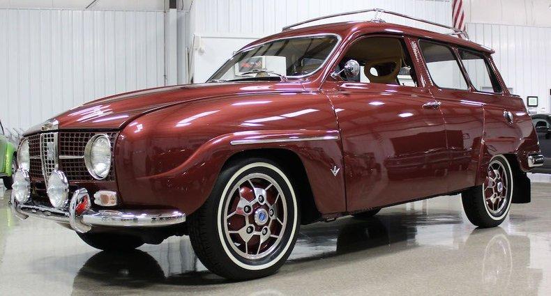1967 Saab Model 95