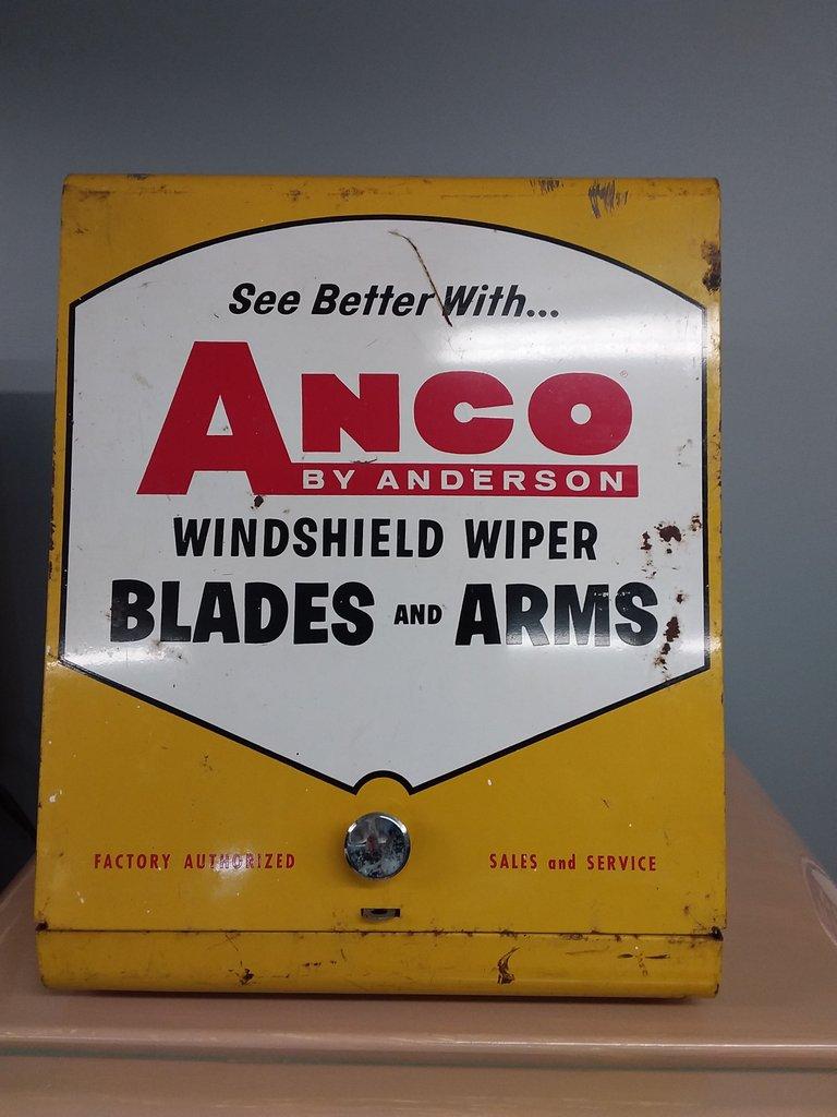 Anco Wiper Blade Cabinet