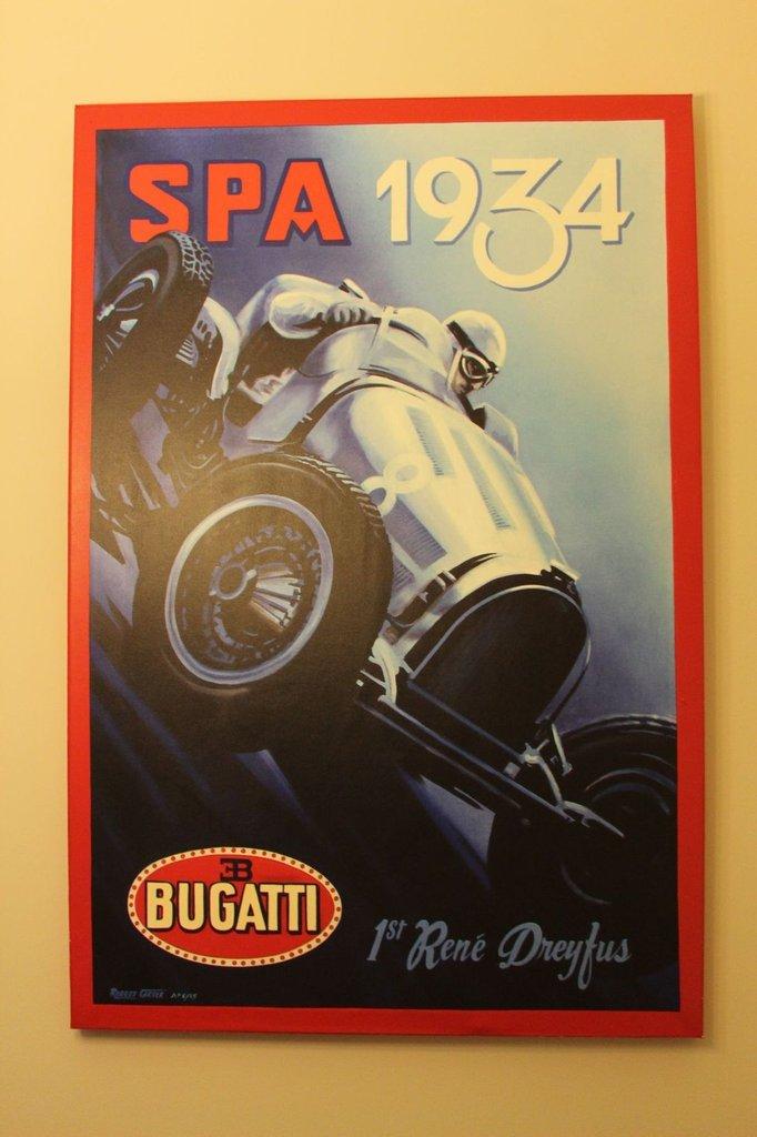Robert Carter Spa Bugatti