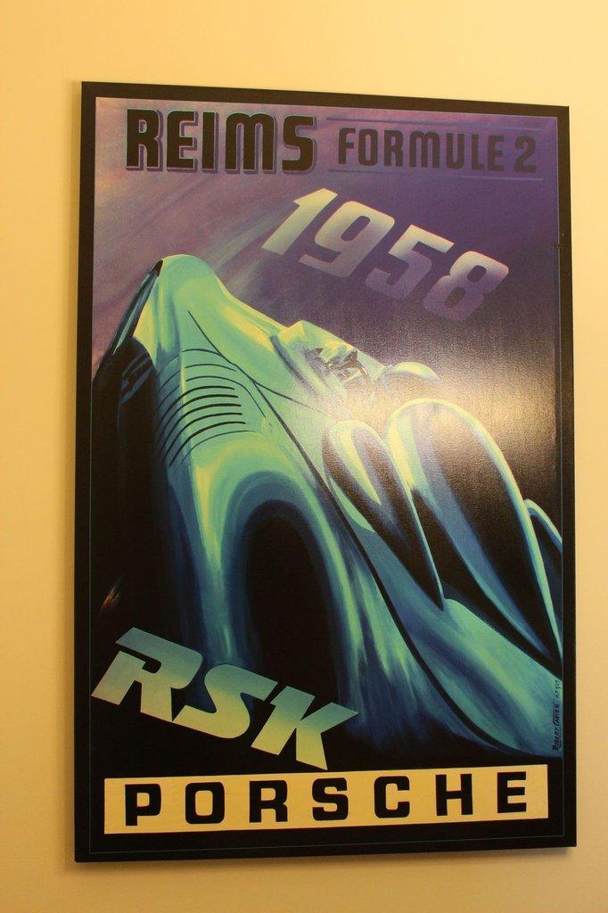 Robert Carter Porsche Reims