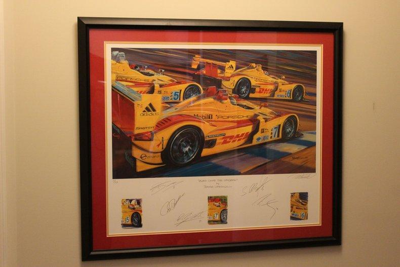 Porsche Race Cars Along came the Spyders - Print