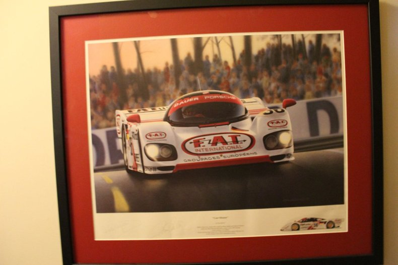 F.A.T. International Race Car - Print