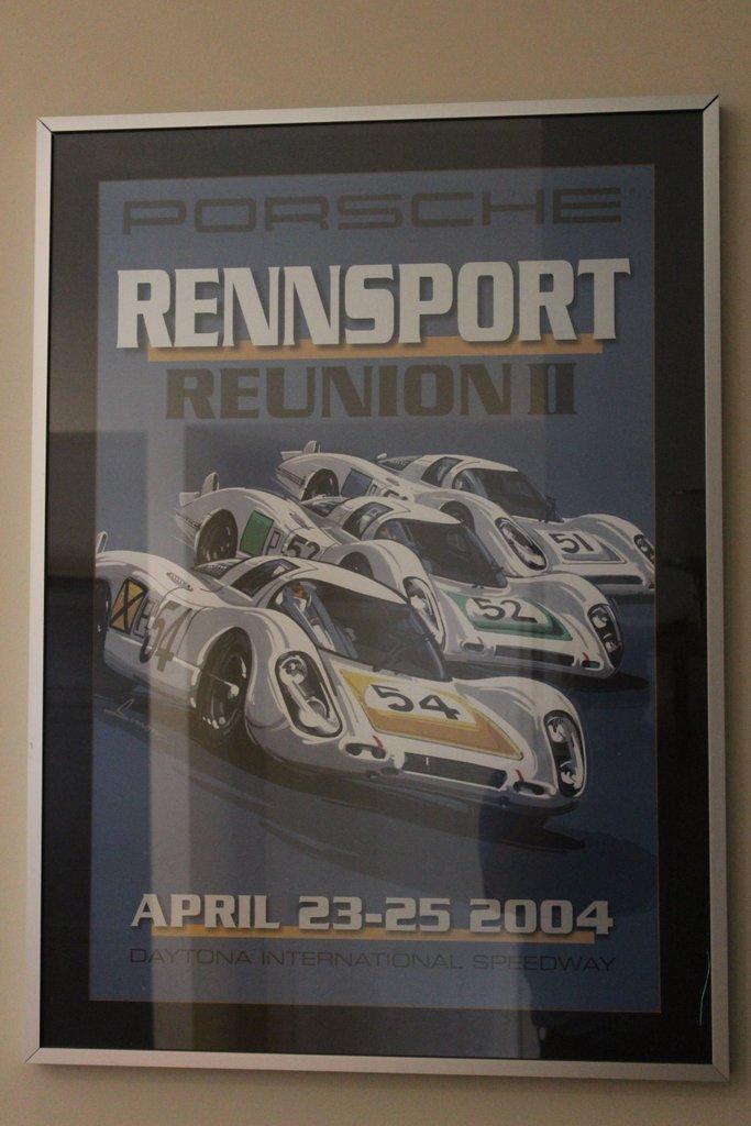 Rennsport Reunion II Porsche 2004 - Print