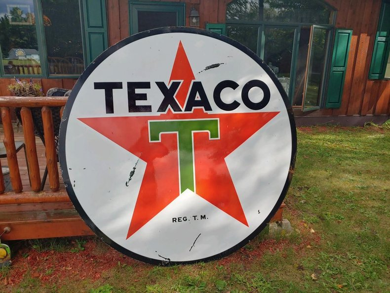 Texaco - SIGN 6' Porcelain