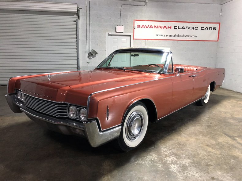 1966 Lincoln Continental Savannah Classic Cars