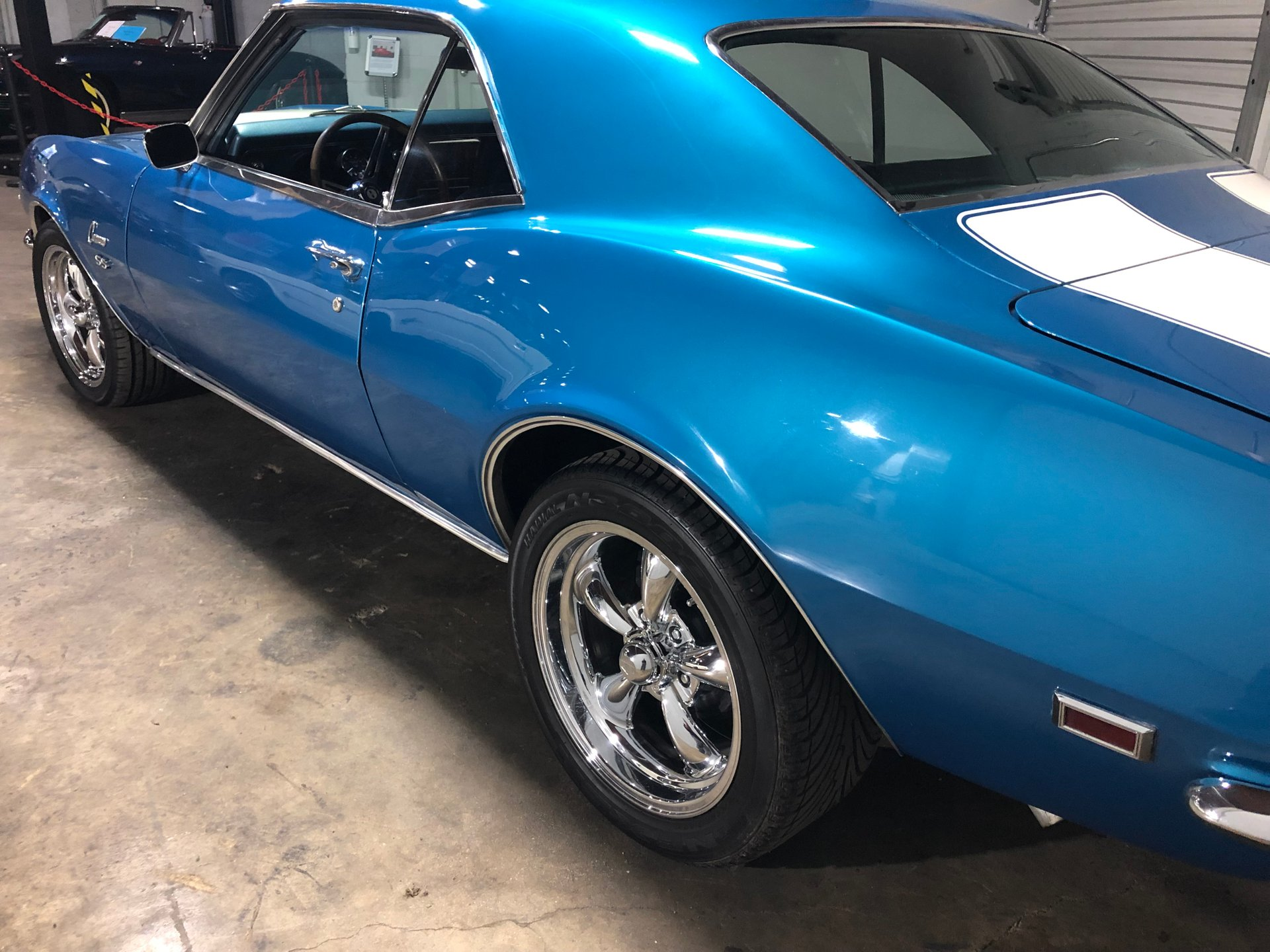 1968 Chevrolet Camaro Savannah Classic Cars Blue