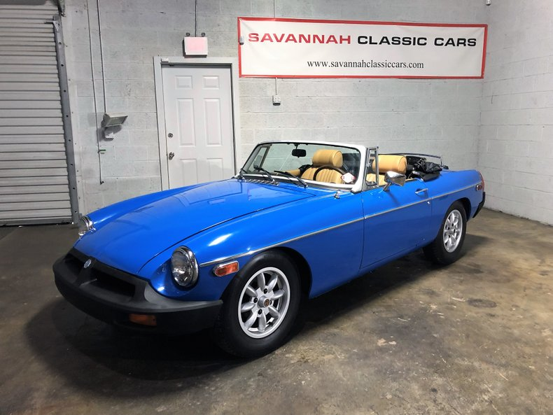 1976 MG B For Sale